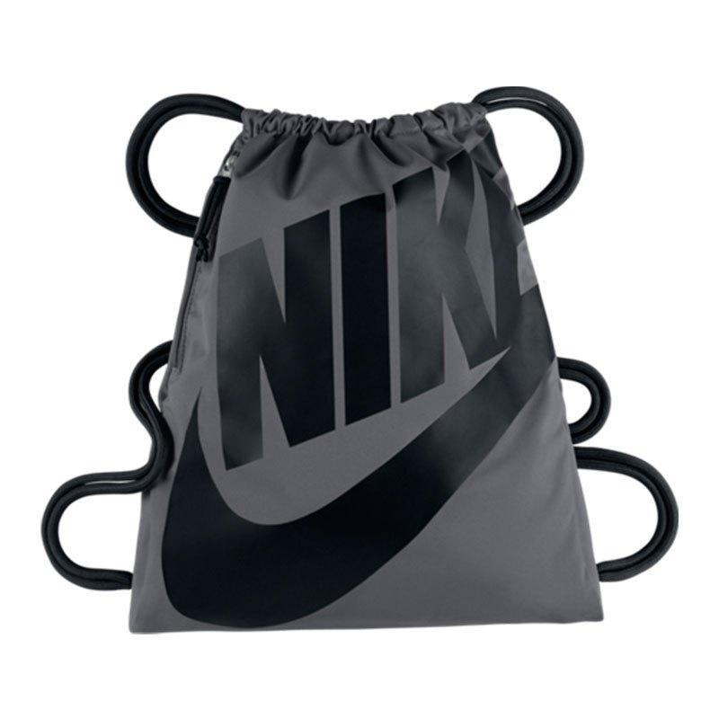 Nike Gymsack Sportbeutel Heritage Grau F009 - grau