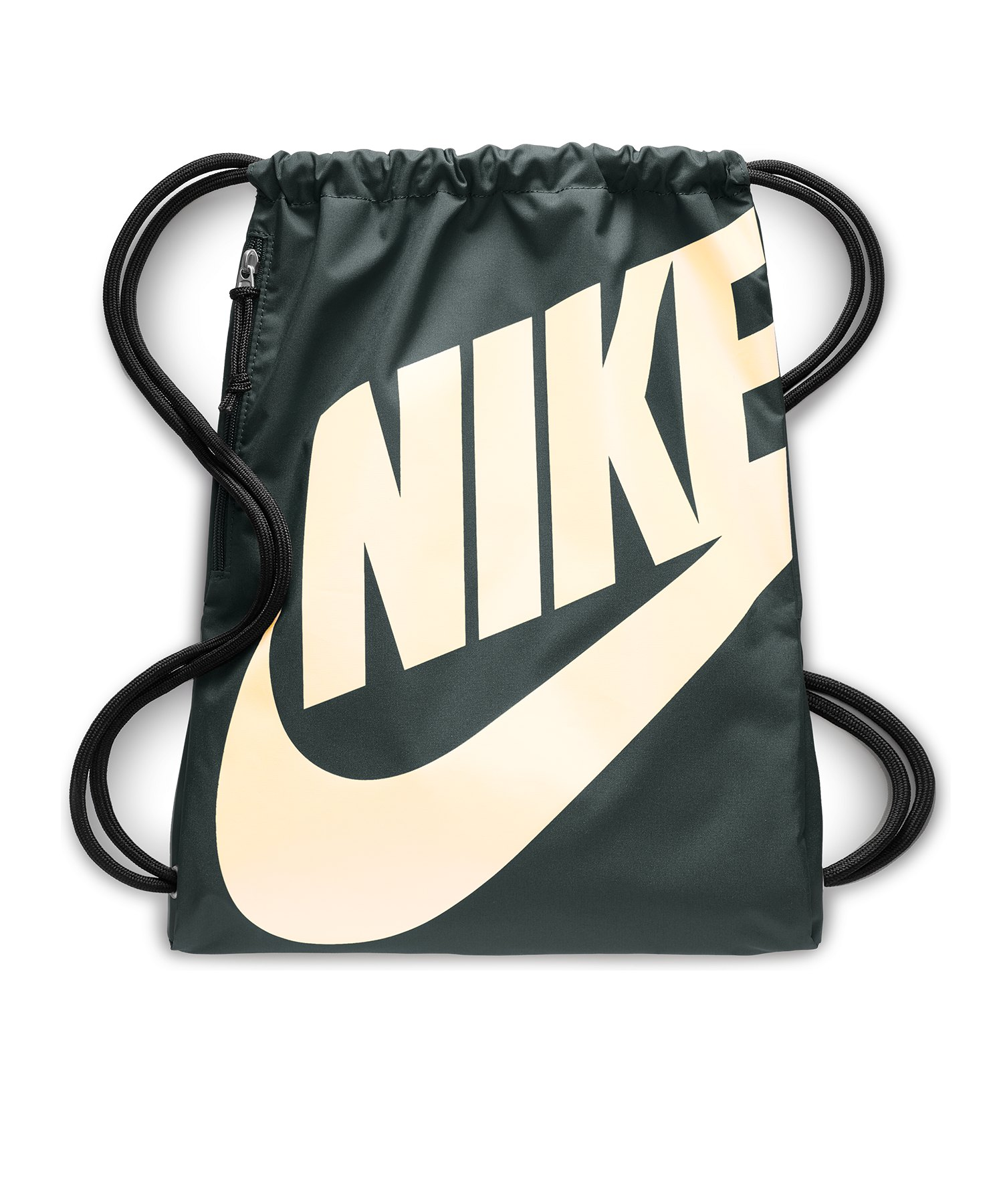 Nike Heritage Gymsack Sportbeutel Grün F346 - gruen