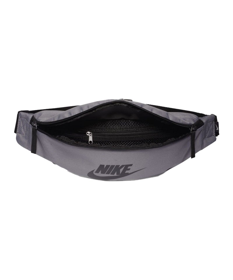 Nike Heritage Hip Pack Grau Schwarz F036 - grau