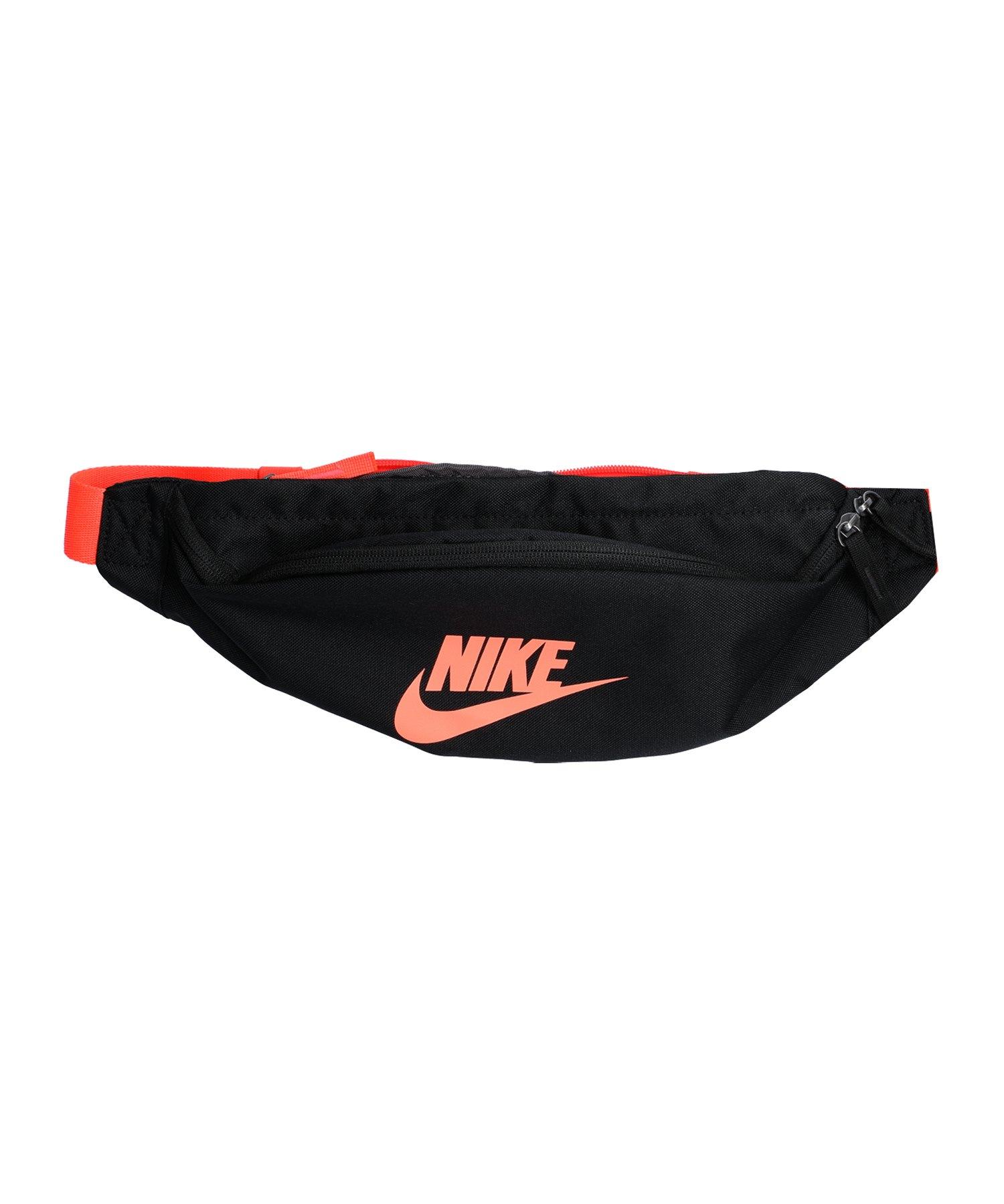 Nike Heritage Hip Pack Hüfttasche Schwarz F016 - schwarz