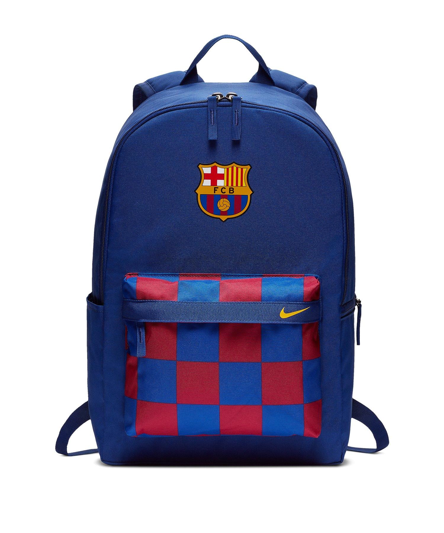 Nike FC Barcelona Stadium Rucksack Blau F451 - blau
