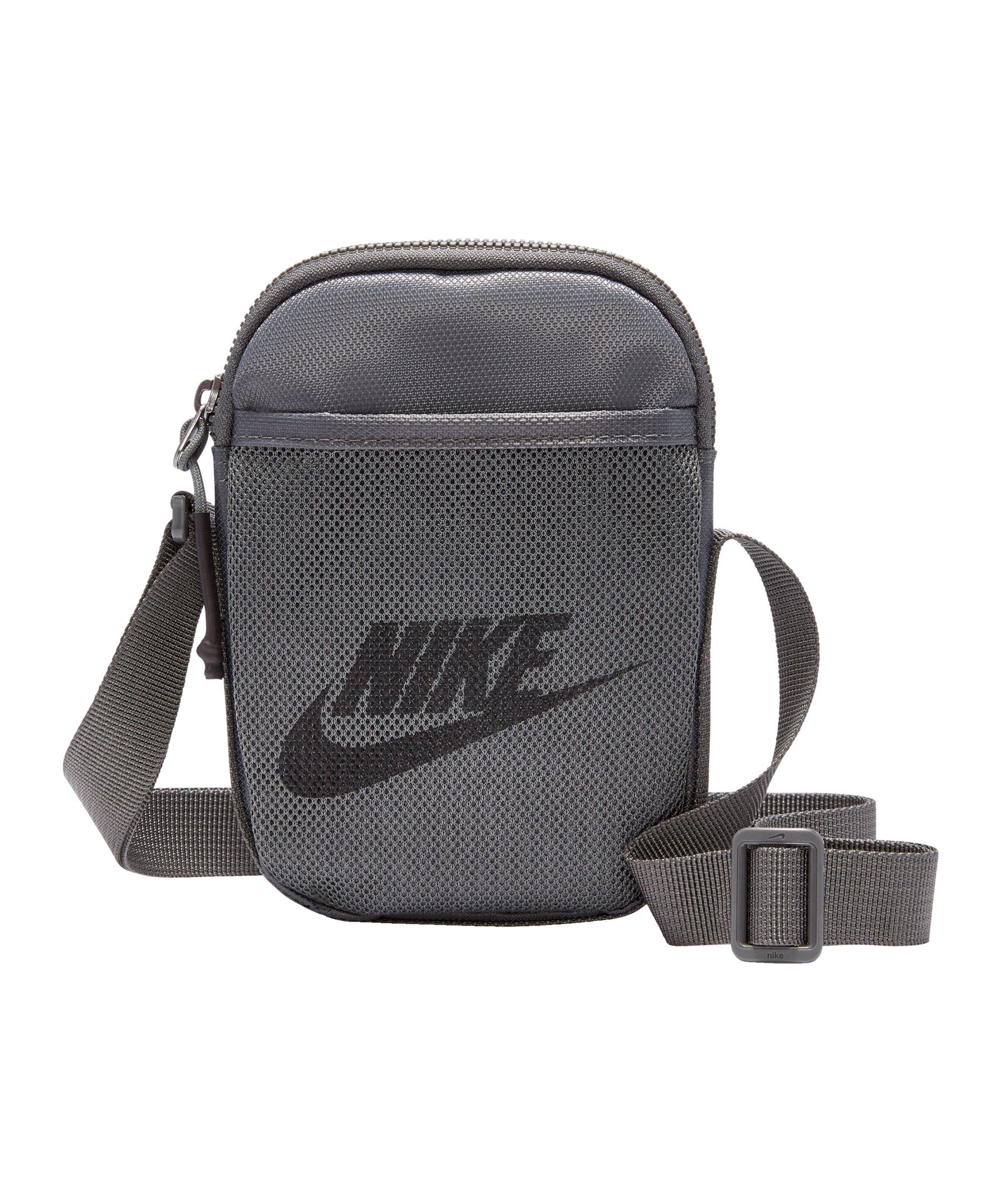 Nike Heritage Items Bag Tasche Grau Schwarz F068 - grau