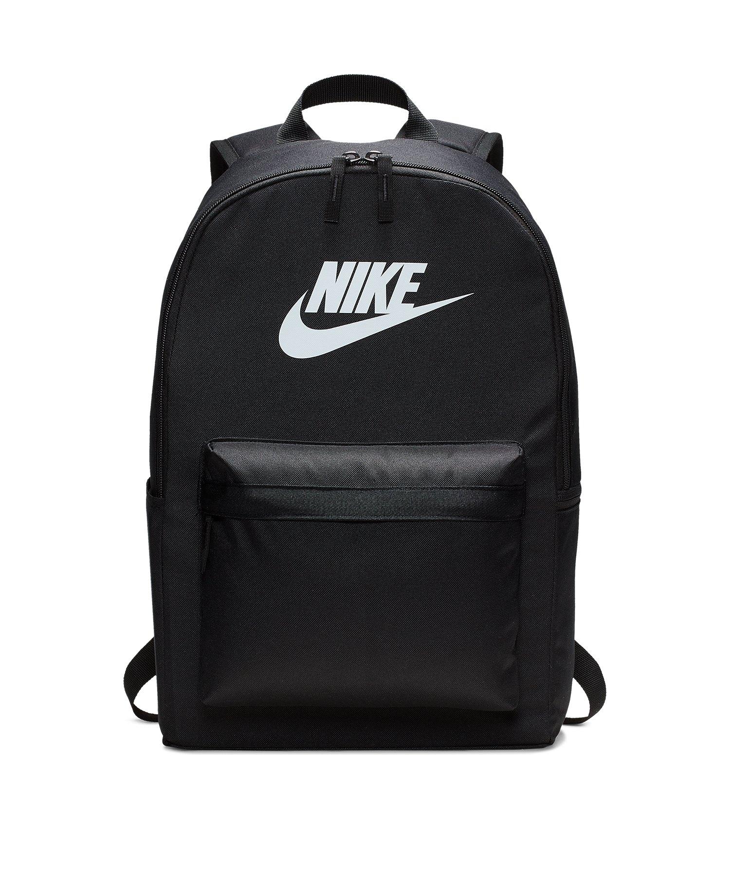 Nike Heritage 2.0 Backpack Rucksack Schwarz F011 - schwarz