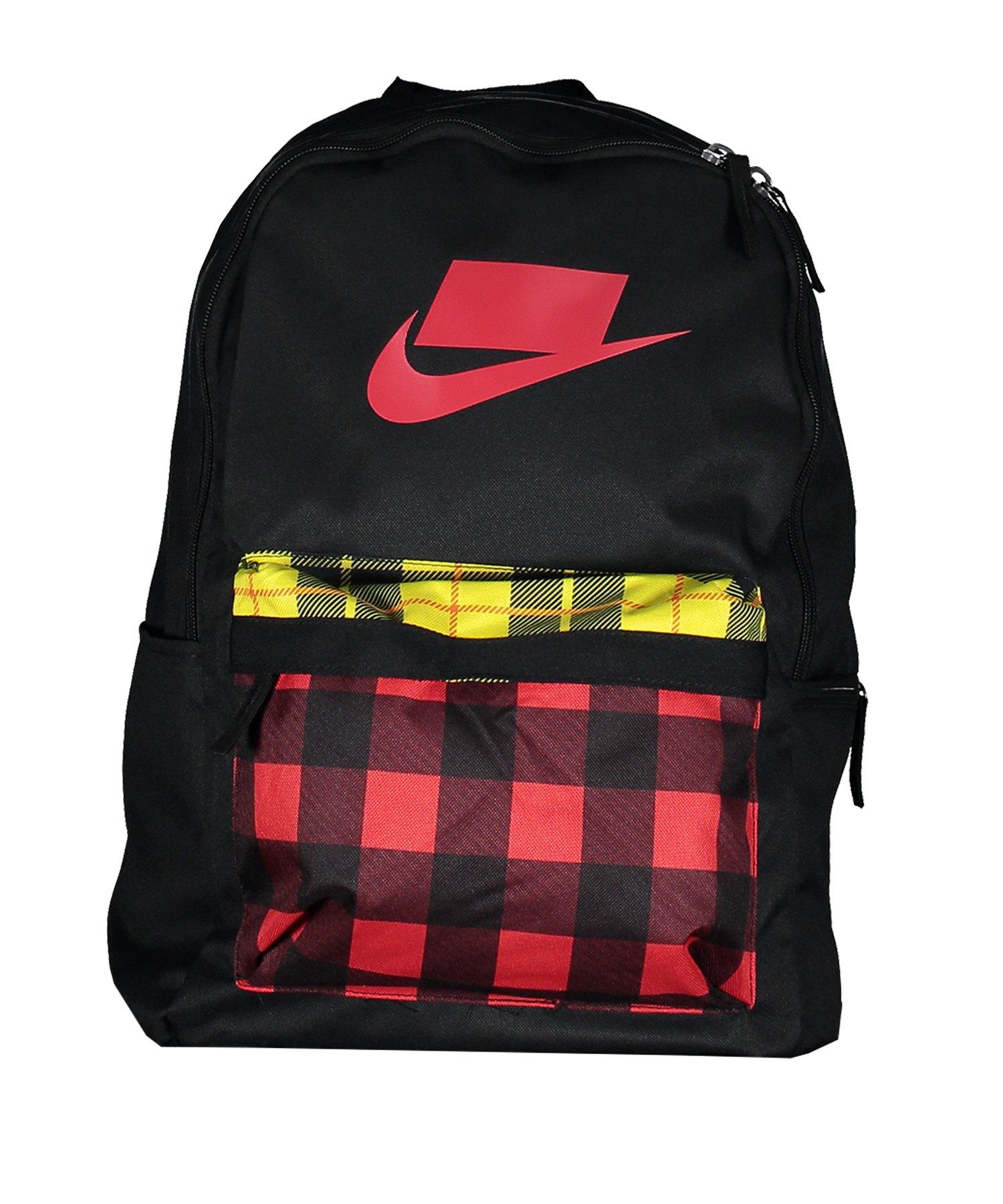Nike Heritage 2.0 Backpack Rucksack Schwarz F010 - schwarz