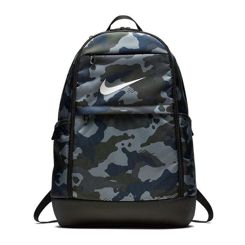 Nike Brasilia XL All Over Print Backpack Grau F021 - grau
