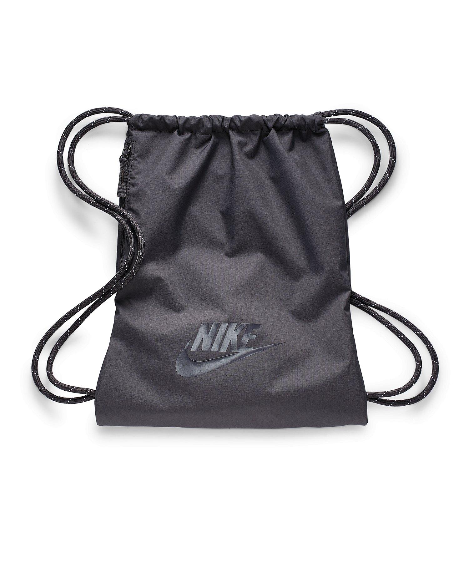 Nike Hertiage 2.0 Gymsack Grau F082 - grau