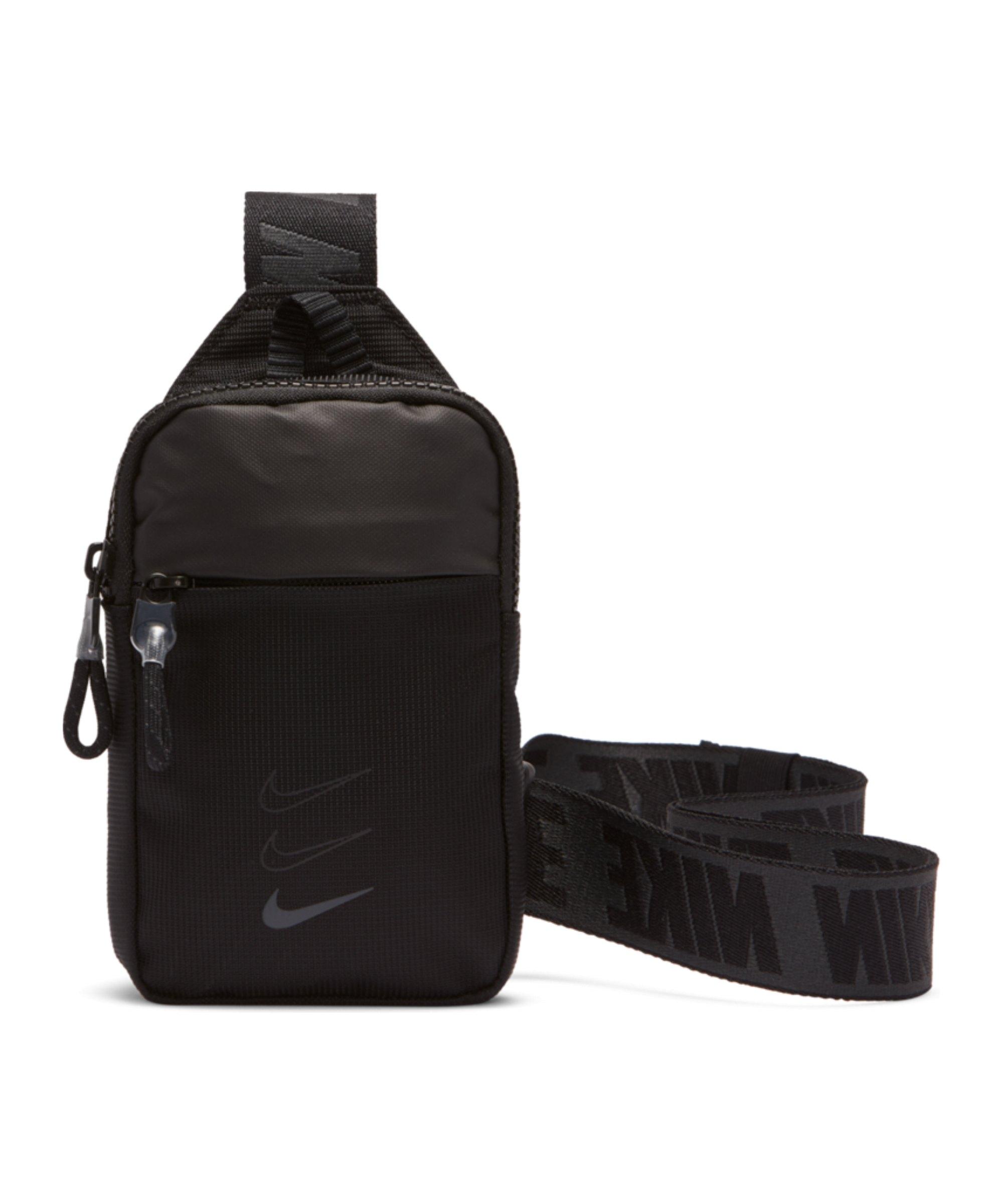 Nike Essential Hip Pack Hüfttasche Schwarz F011 - schwarz