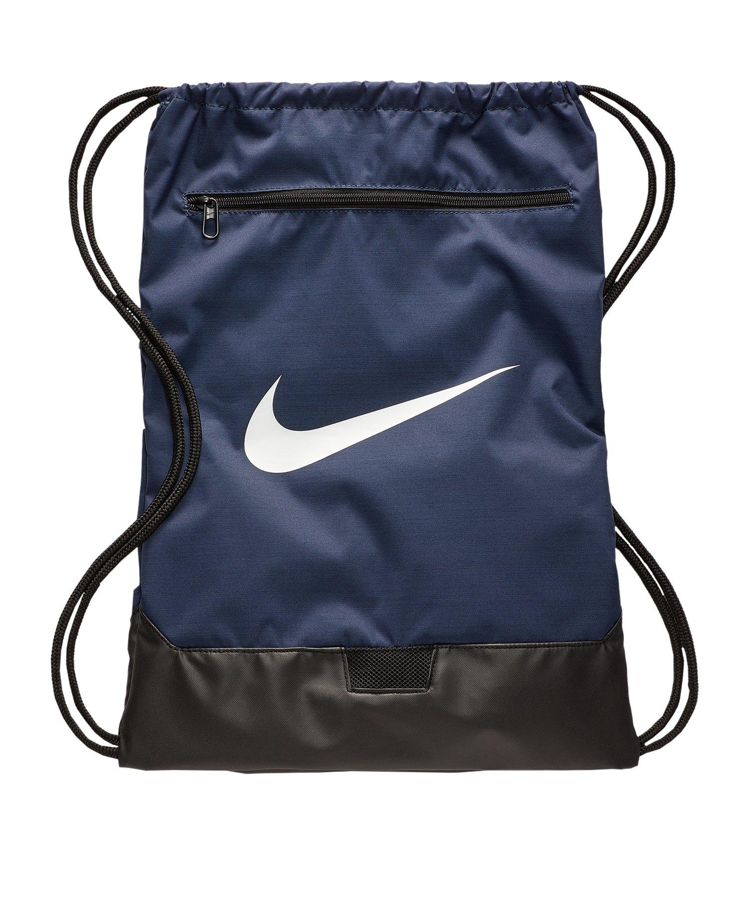Nike Brasilia 9.0 Gymsack Blau F410 - blau