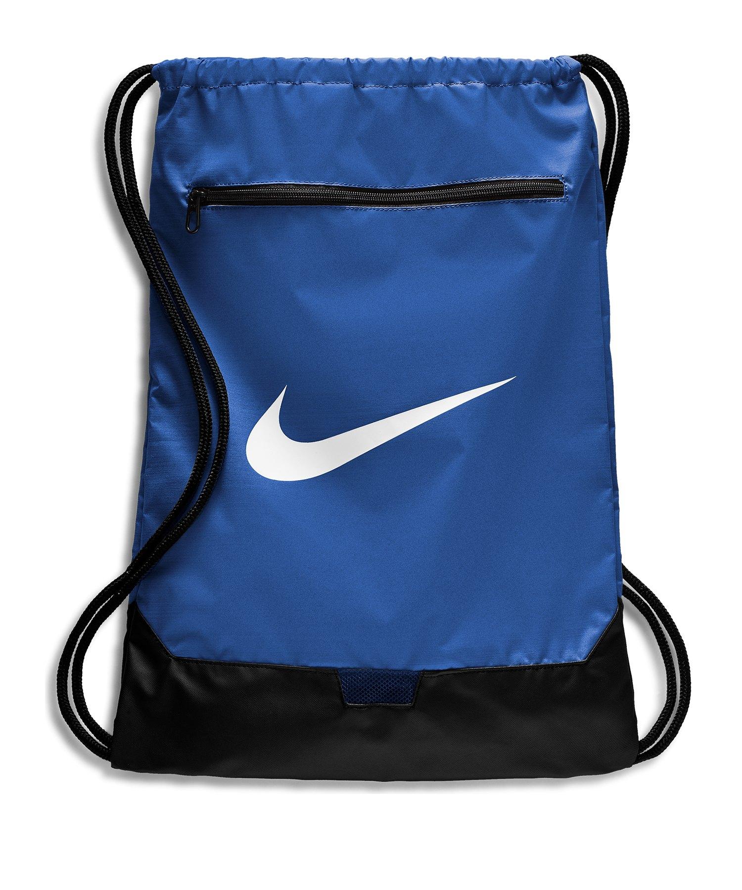 Nike Brasilia 9.0 Gymsack Blau F480 - blau