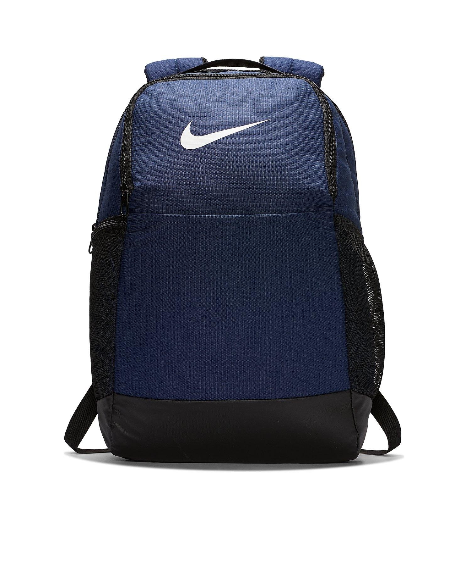 Nike Brasilia Training Rucksack Schwarz F410 - blau