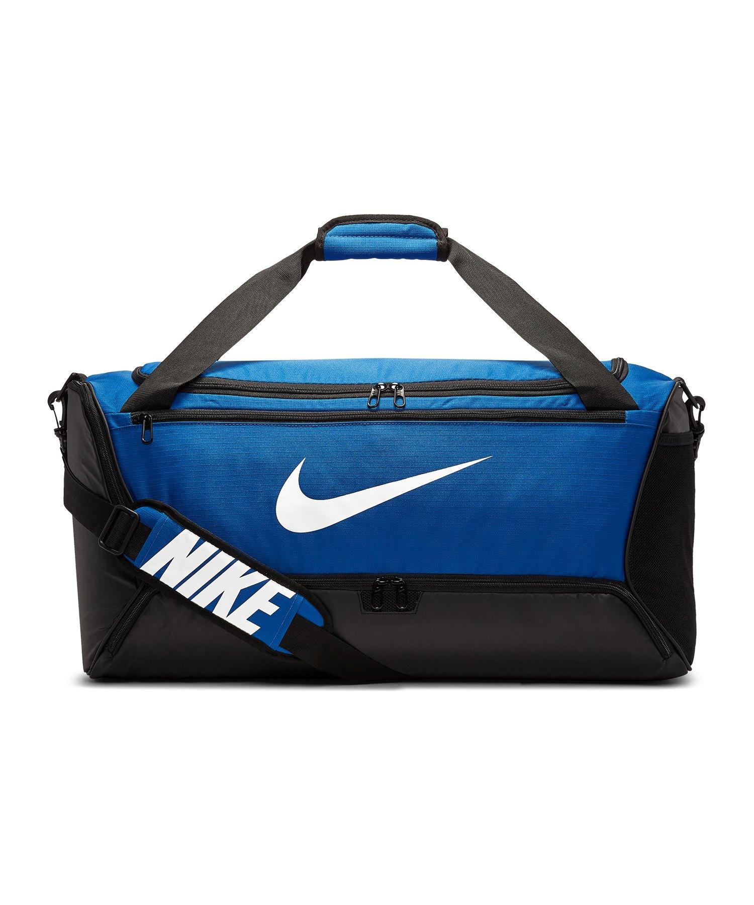 Nike Brasilia Duffel Bag Tasche Medium Blau F480 - blau
