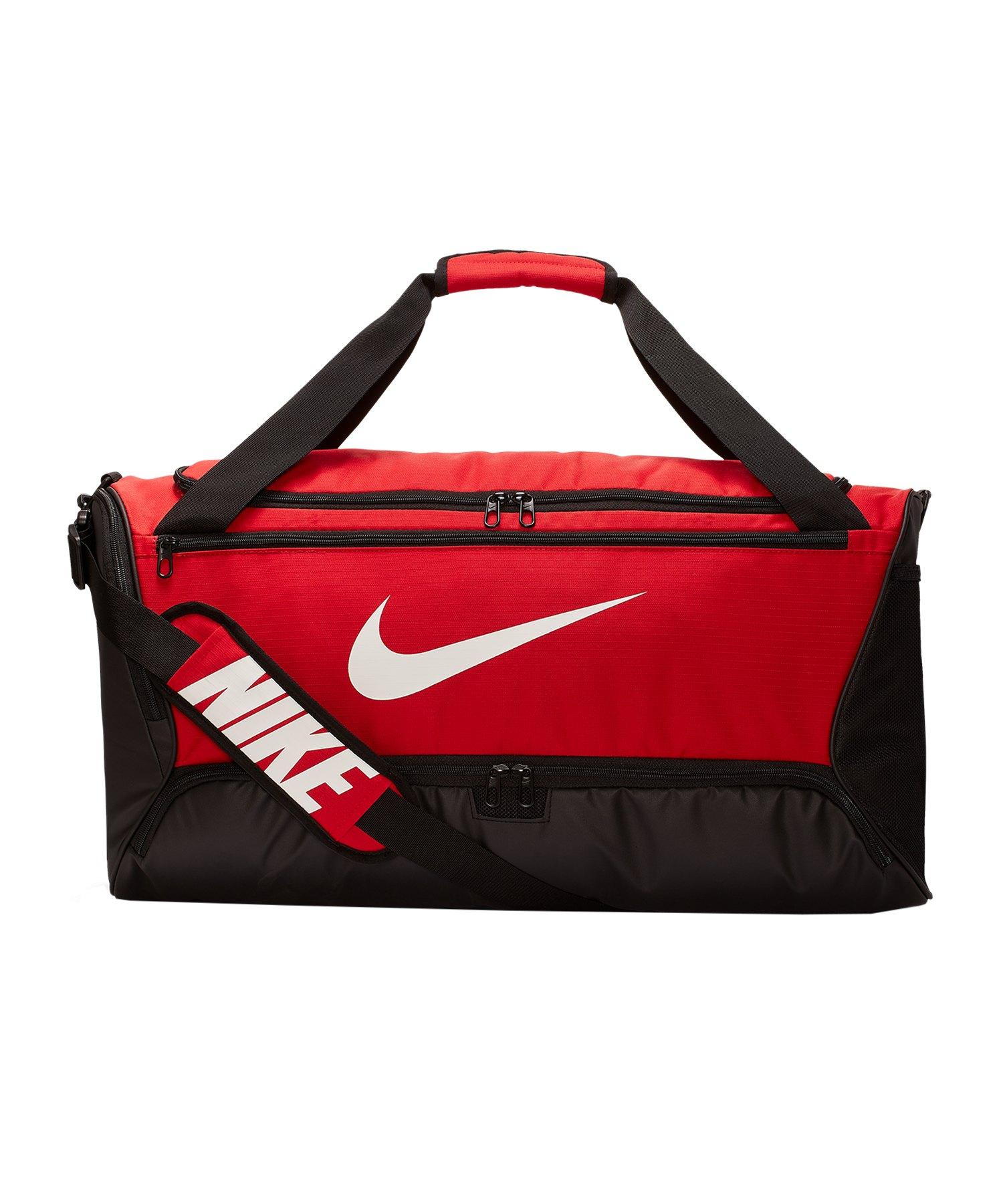 Nike Brasilia Duffel Bag Tasche Medium F657 - rot