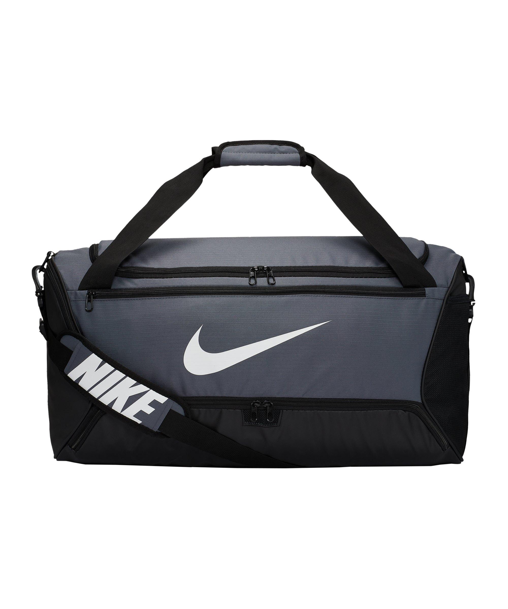 Nike Brasilia Duffel Bag Tasche Medium Grau F026 - grau