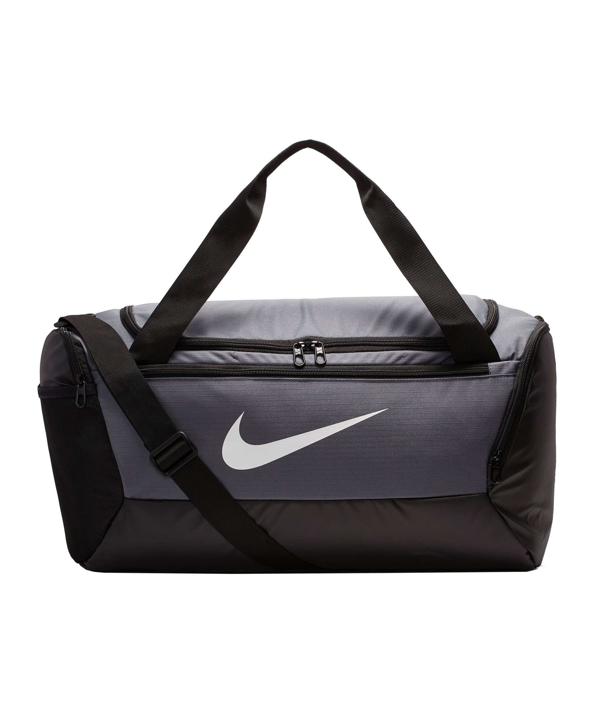 Nike Brasilia Duffel Bag Tasche Small F026 - grau
