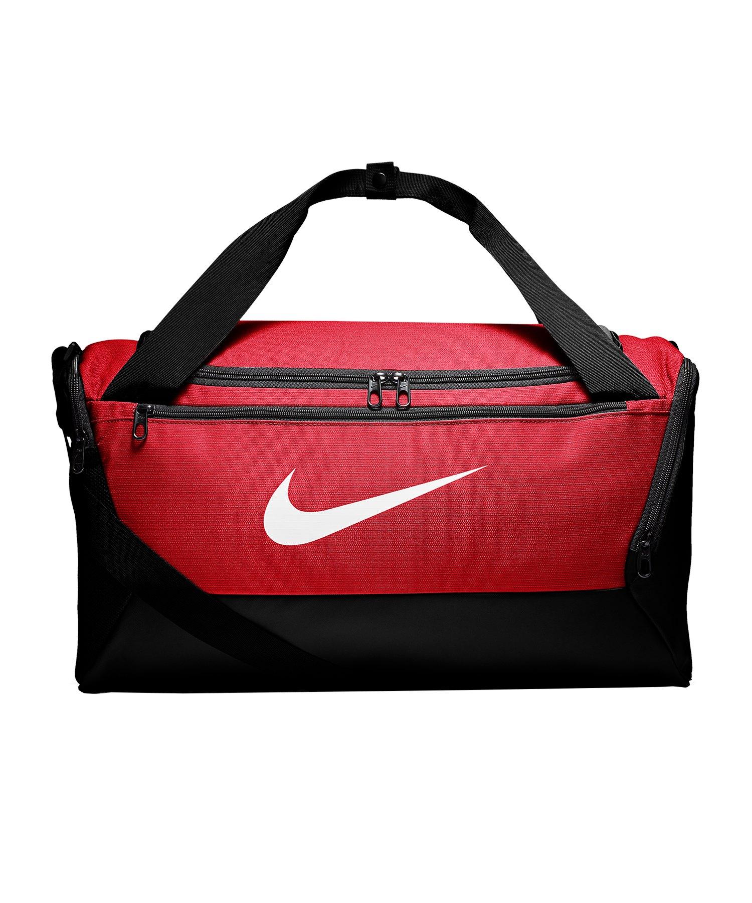 Nike Brasilia Duffel Bag Tasche Small Rot F657 - rot