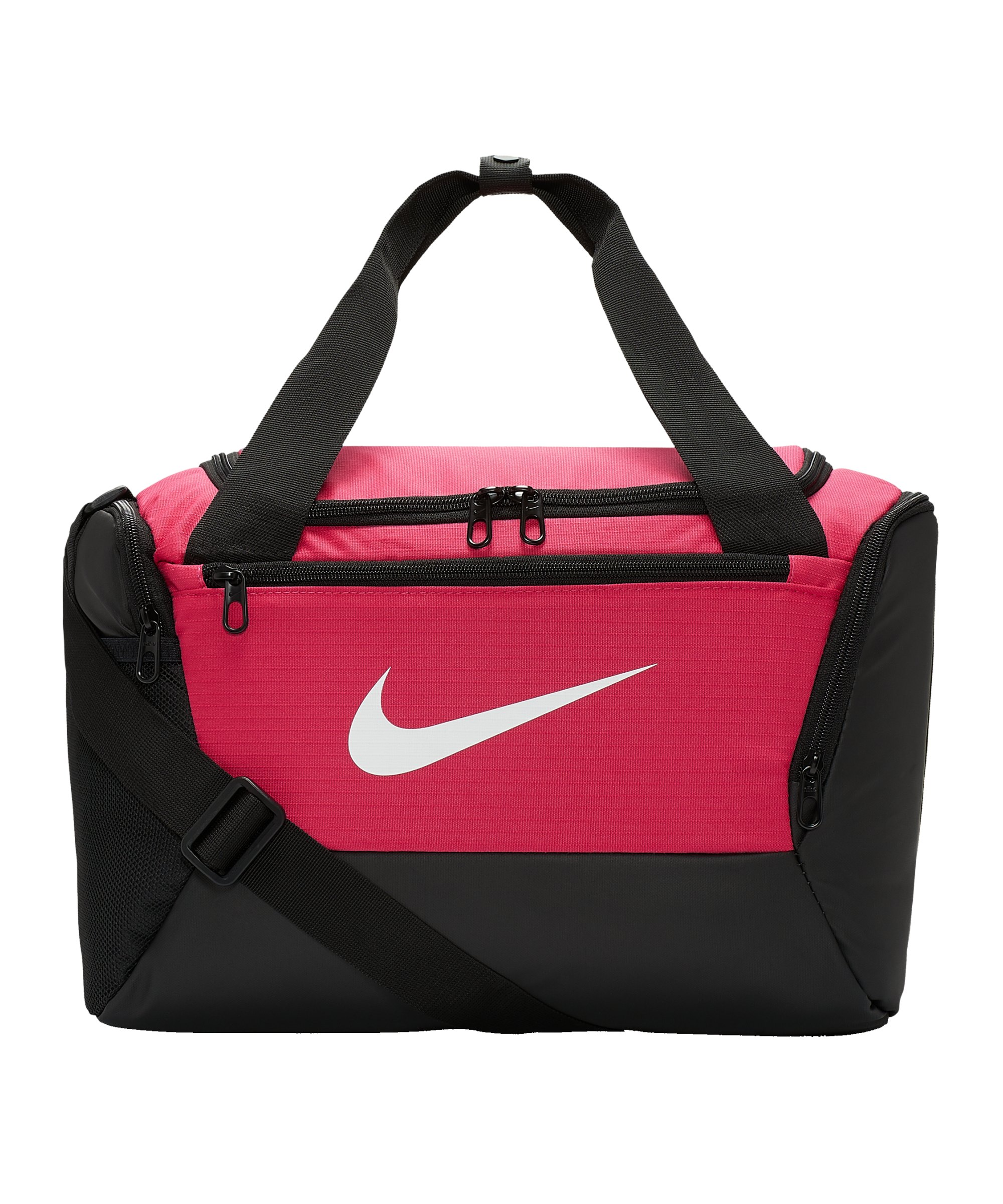 Nike Brasilia 9.0 Dufflebag Extrasmall F666 - pink