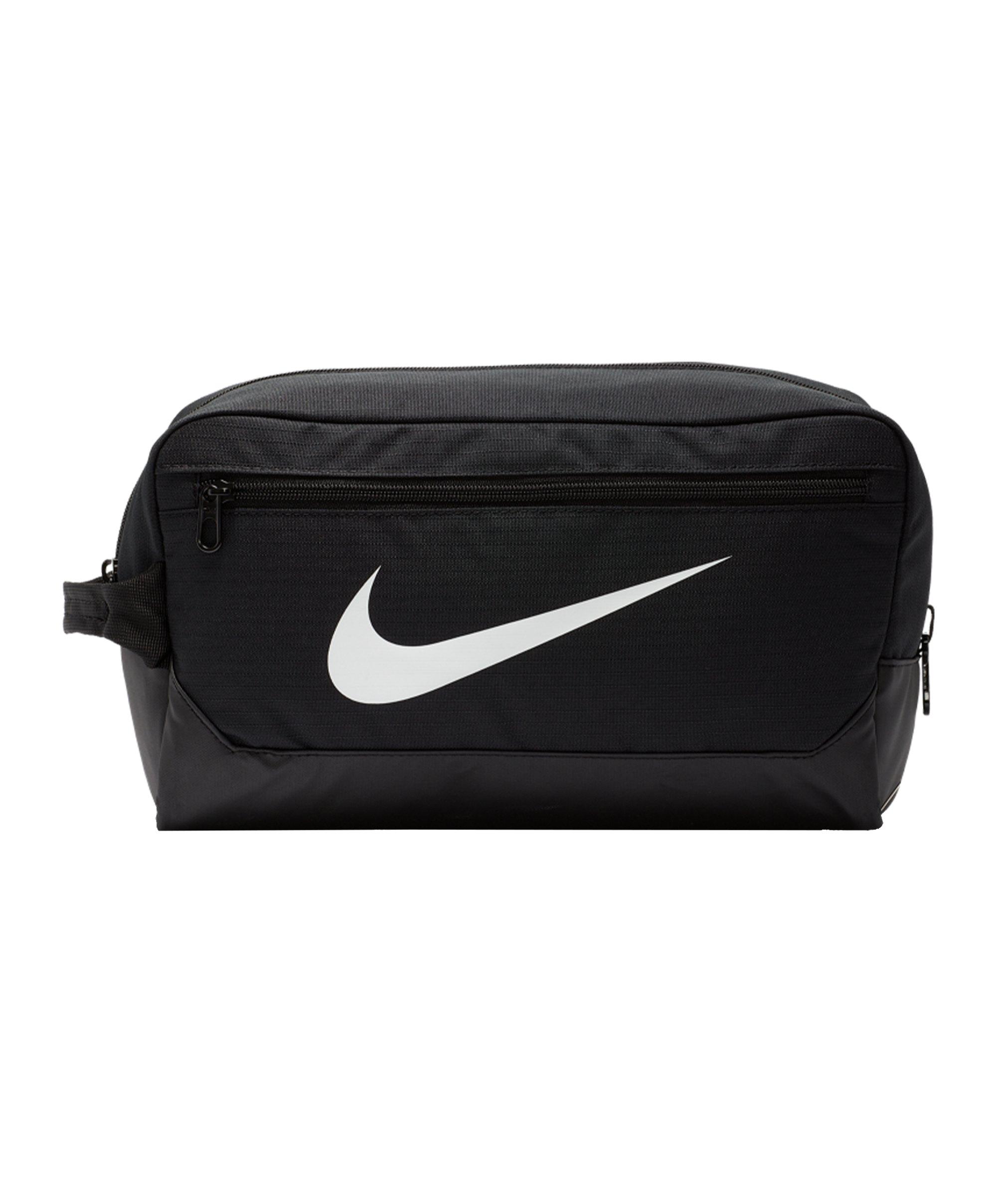 Nike Brasilia 9.0 Shoebag Schwarz F010 - schwarz