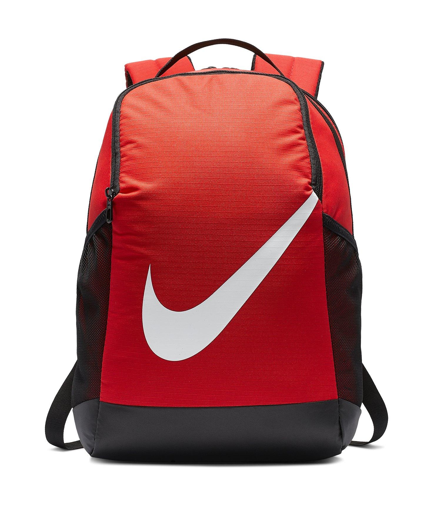 Nike Brasilia Backpack Rucksack Kids Rot F657 - rot