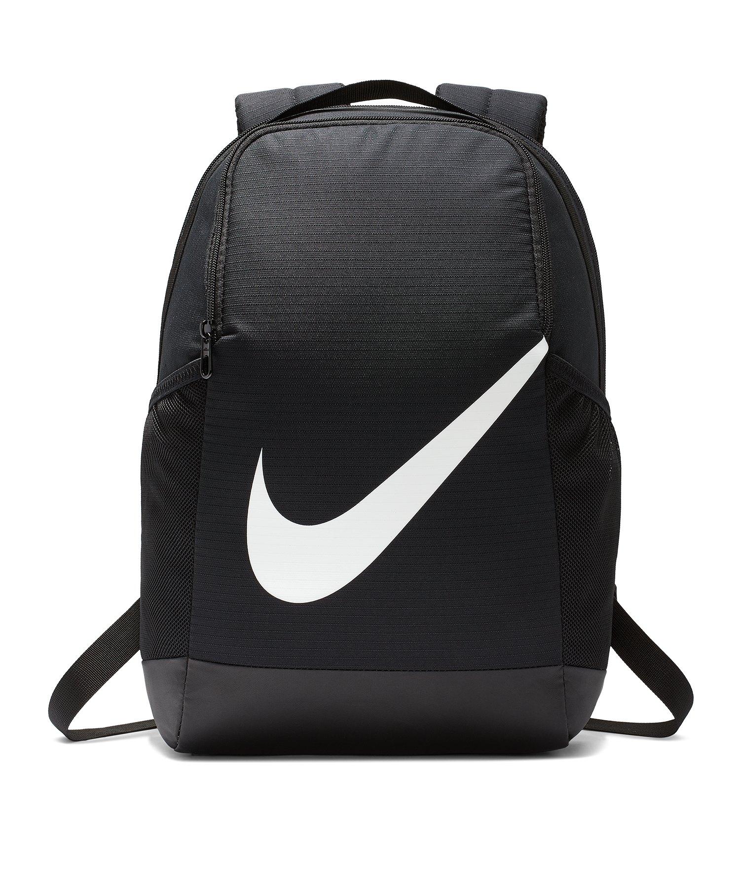 Nike Brasilia Backpack Rucksack Kids Schwarz F010 - schwarz