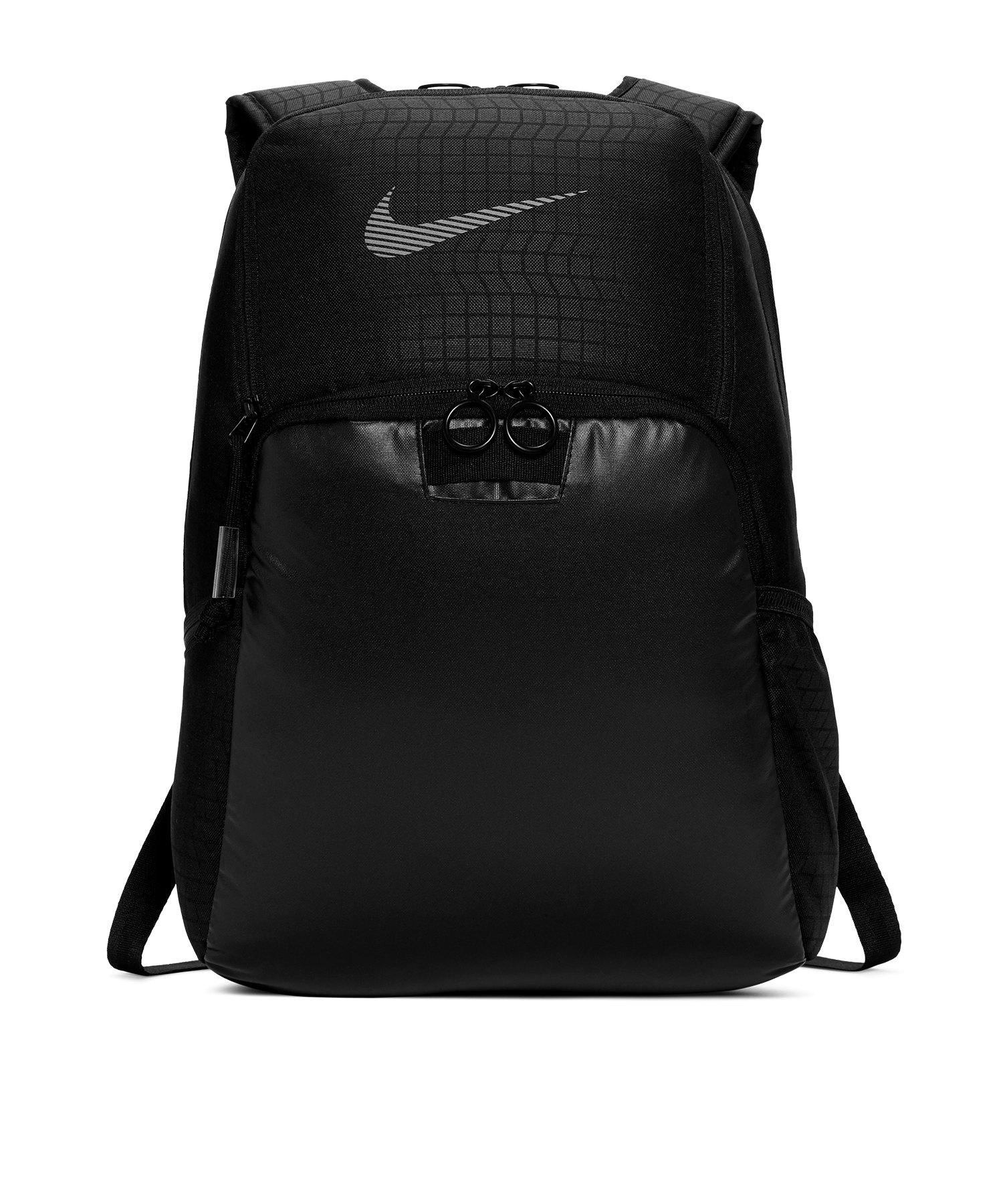 Nike Brasilia Rucksack Schwarz Medium F010 - schwarz