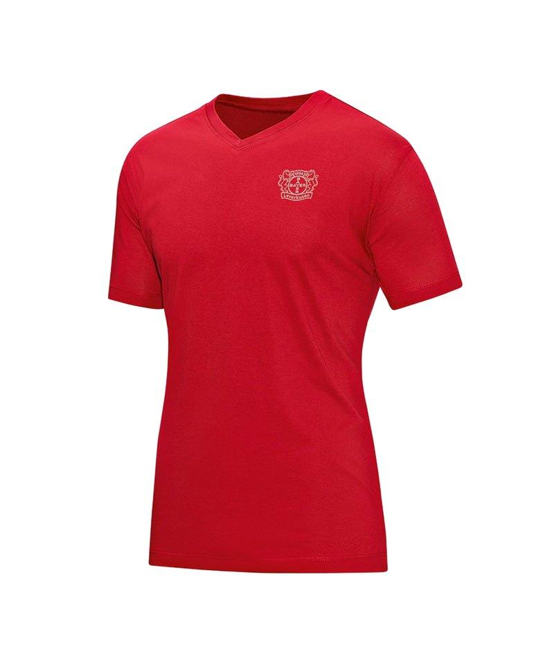Jako Bayer 04 Leverkusen Premium T-Shirt Rot F01 - rot