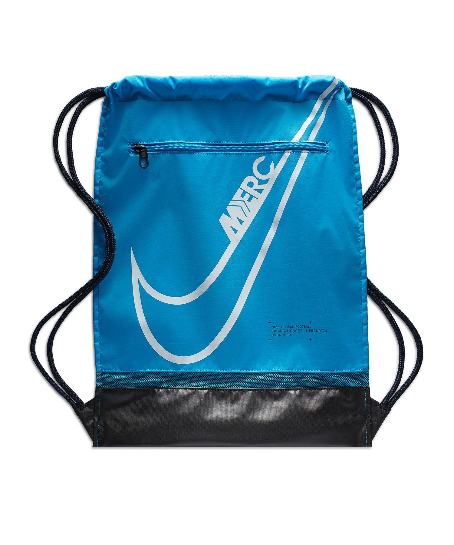 Nike Mercurial Gymsack Blau F486 - blau