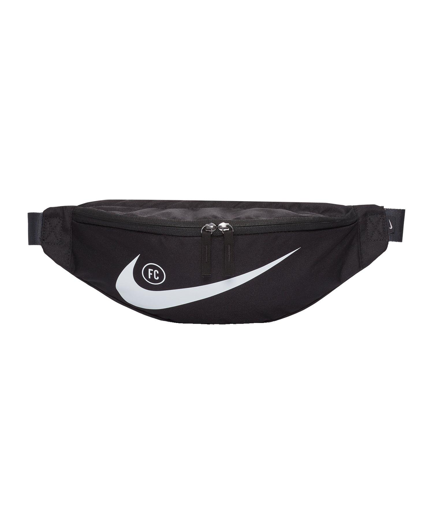 Nike F.C. Hip Pack Hüfttasche Schwarz F011 - schwarz