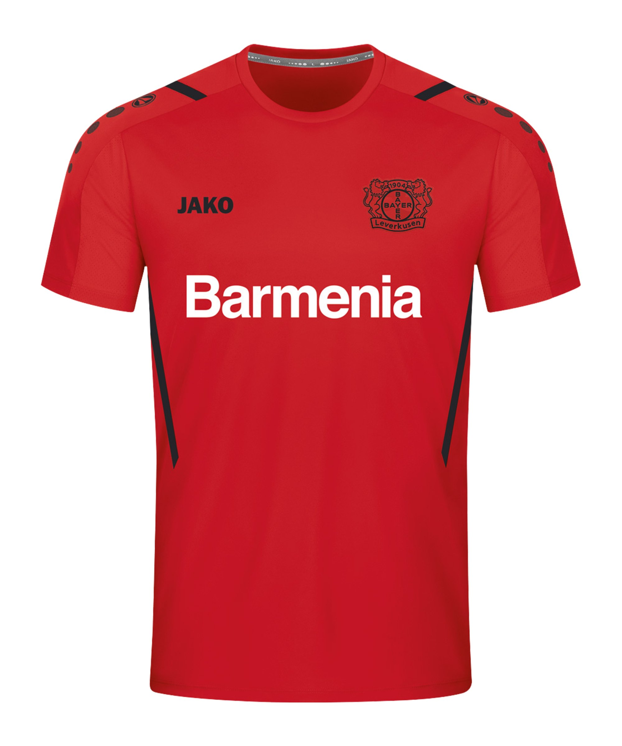 JAKO Bayer 04 Leverkusen Challenge T-Shirt Kids Rot Schwarz F101 - rot
