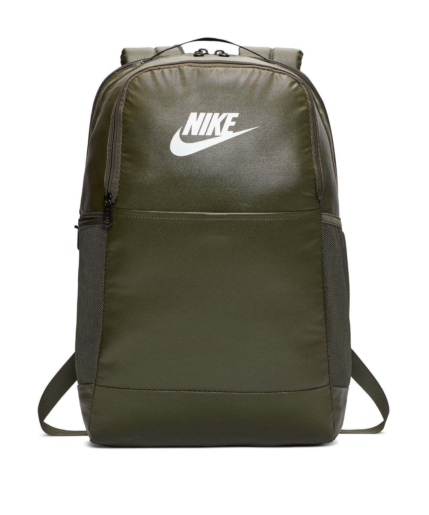 Nike Brasilia Training Rucksack Medium Grün F325 - gruen