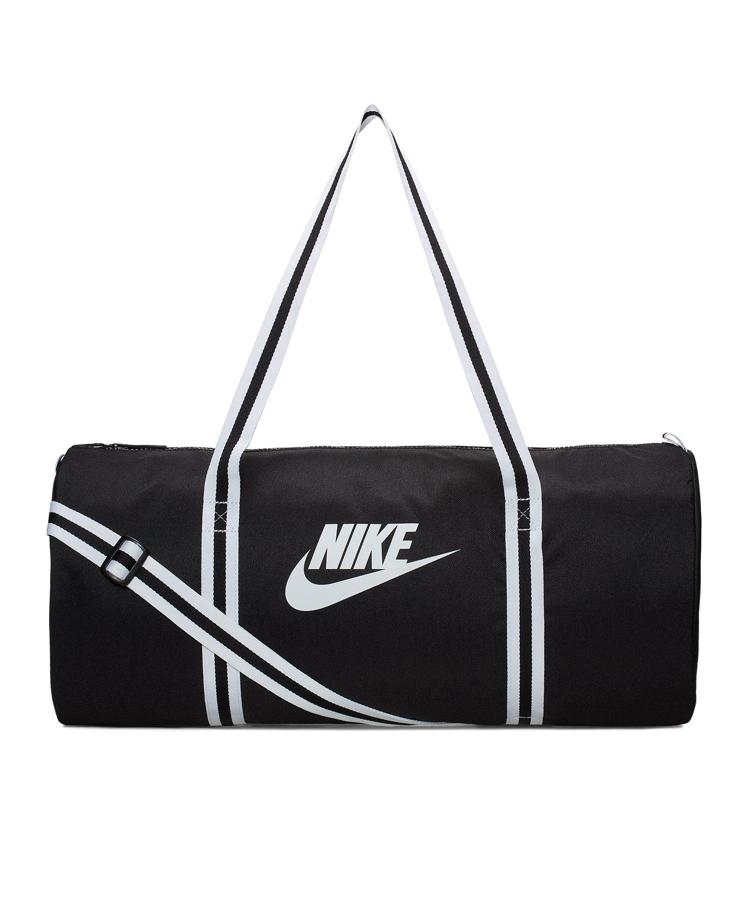 Nike Heritage Duffle Bag Schwarz F010 - schwarz