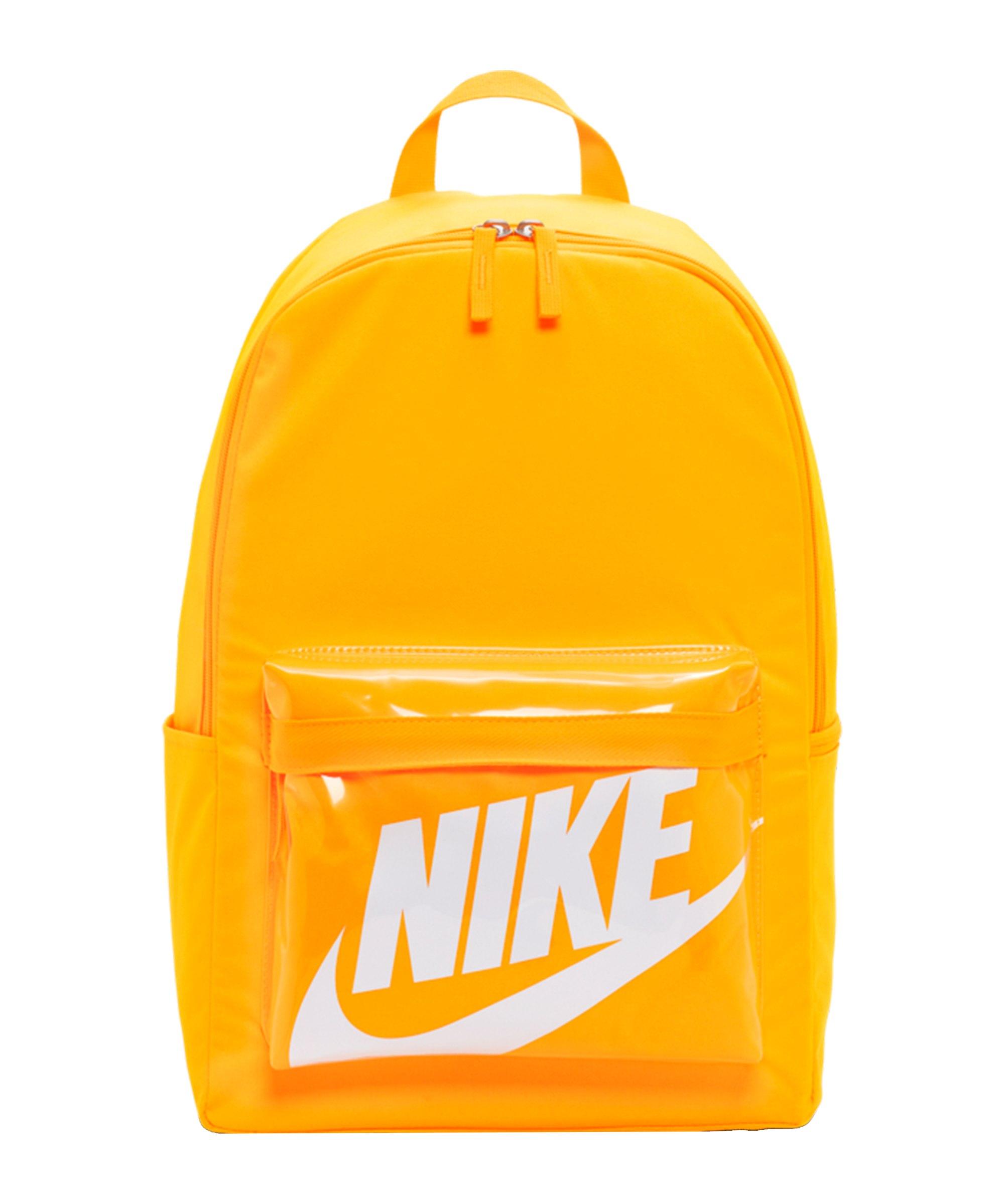 Nike Heritage 2.0 Rucksack Gelb F845 - gelb