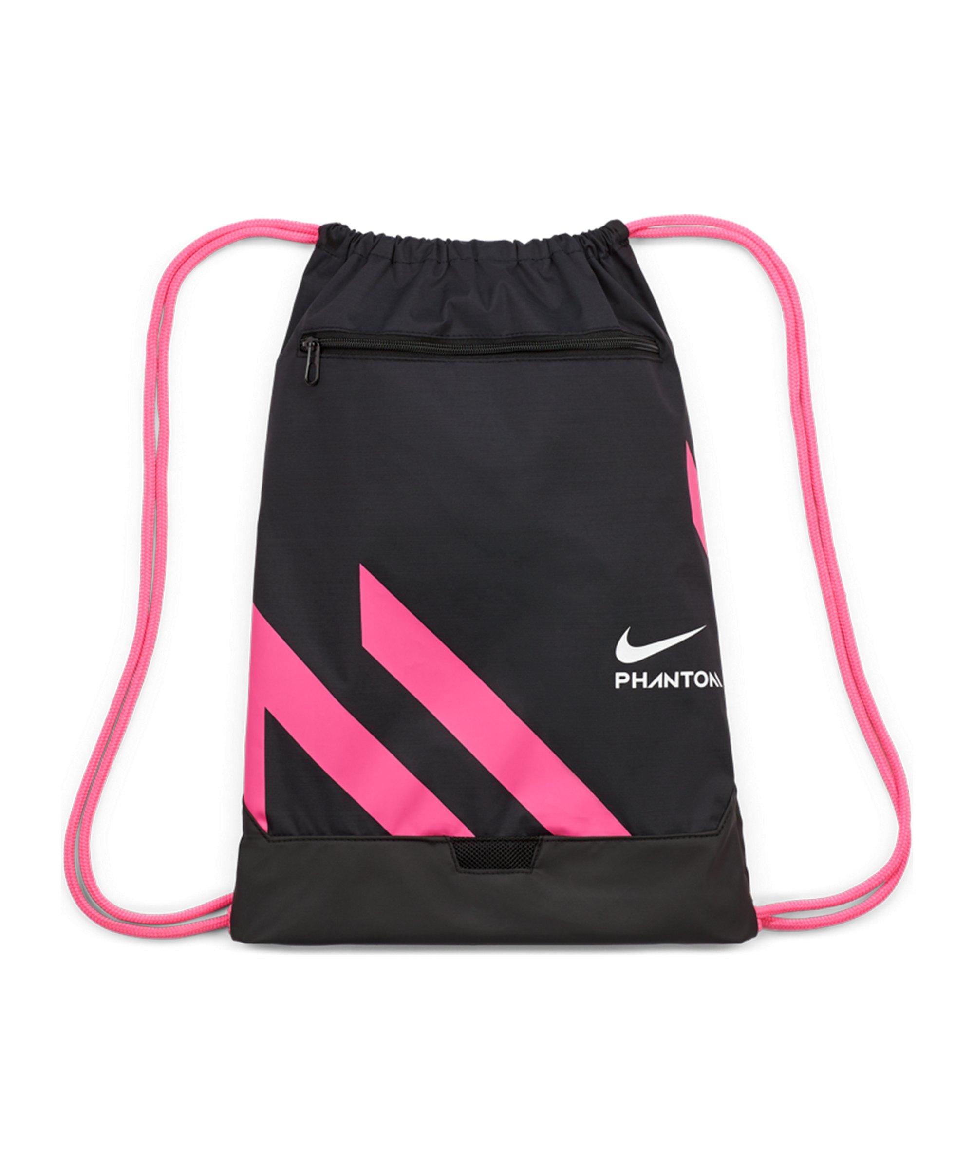 Nike Phantom Soccer Gymsack Schwarz Pink F011 - pink