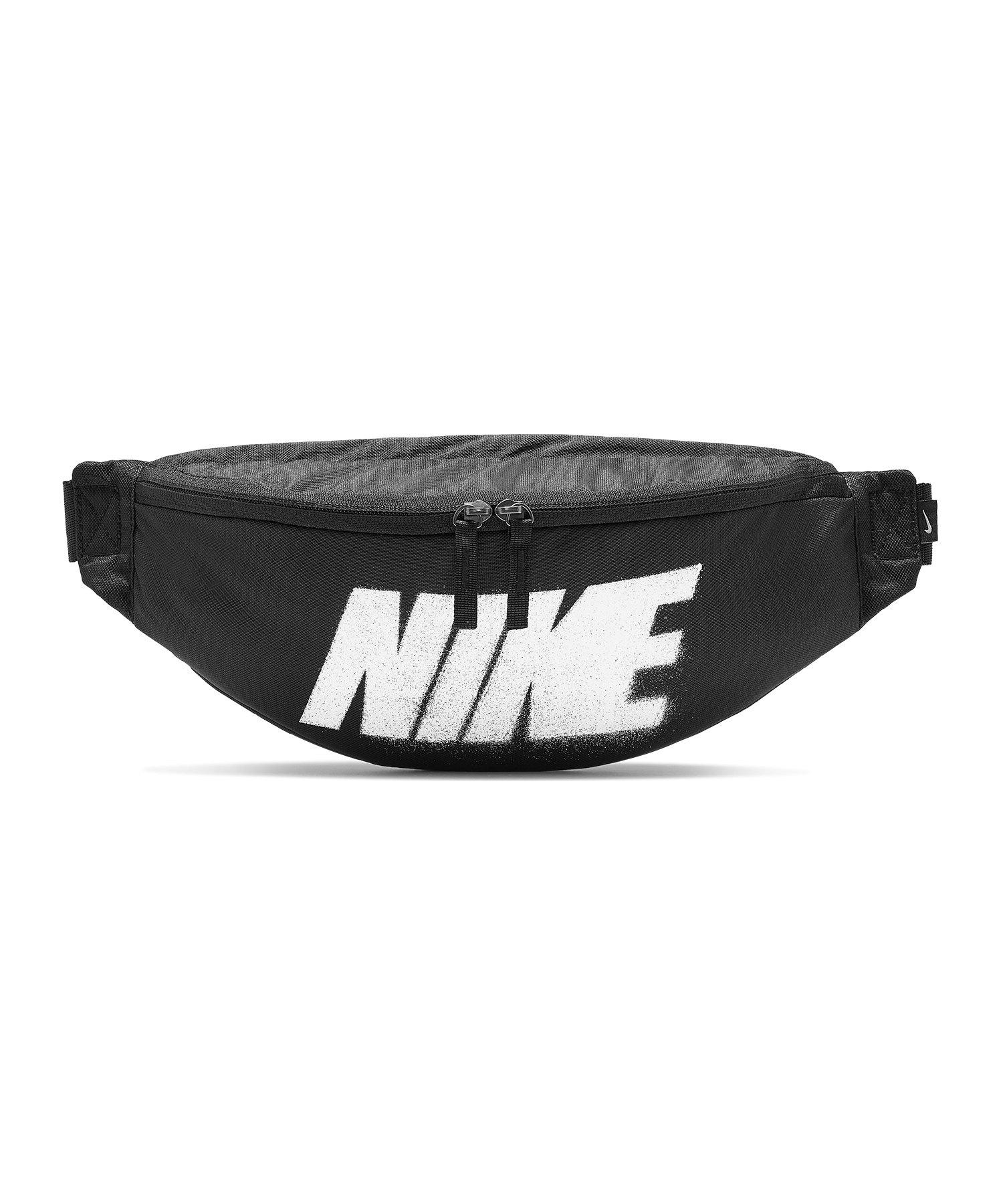 Nike Heritage Hip Pack Hüfttasche Schwarz F010 - schwarz