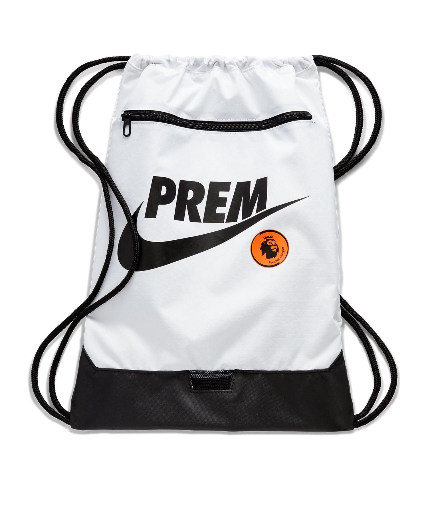 Nike Premier League Gymsack Weiss F100 - weiss