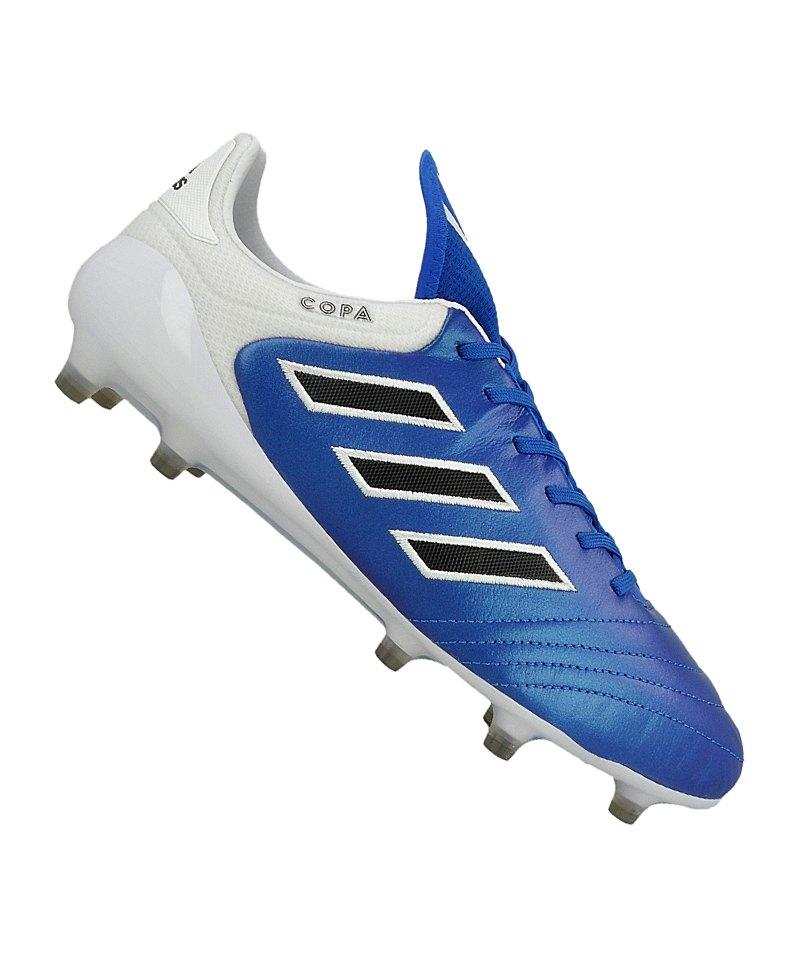 adidas FG COPA 17.1 Blau Schwarz Weiss - blau