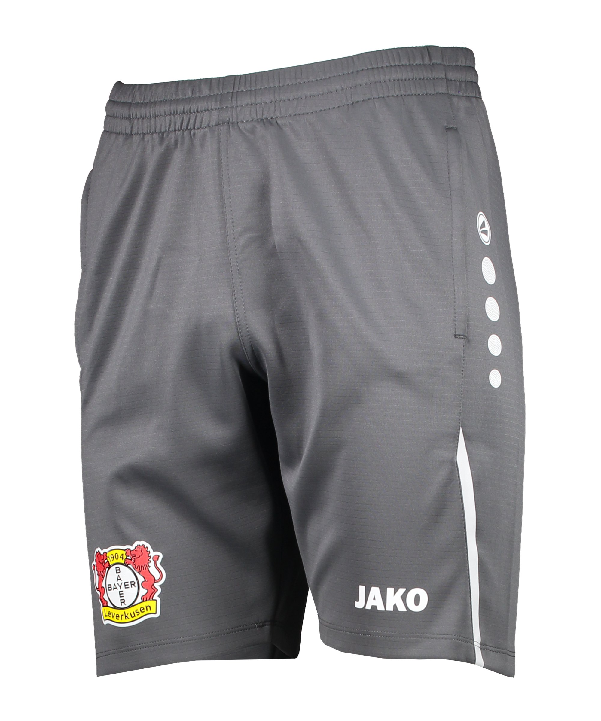 JAKO Bayer 04 Leverkusen Challenge Trainingsshort Grau F821 - grau