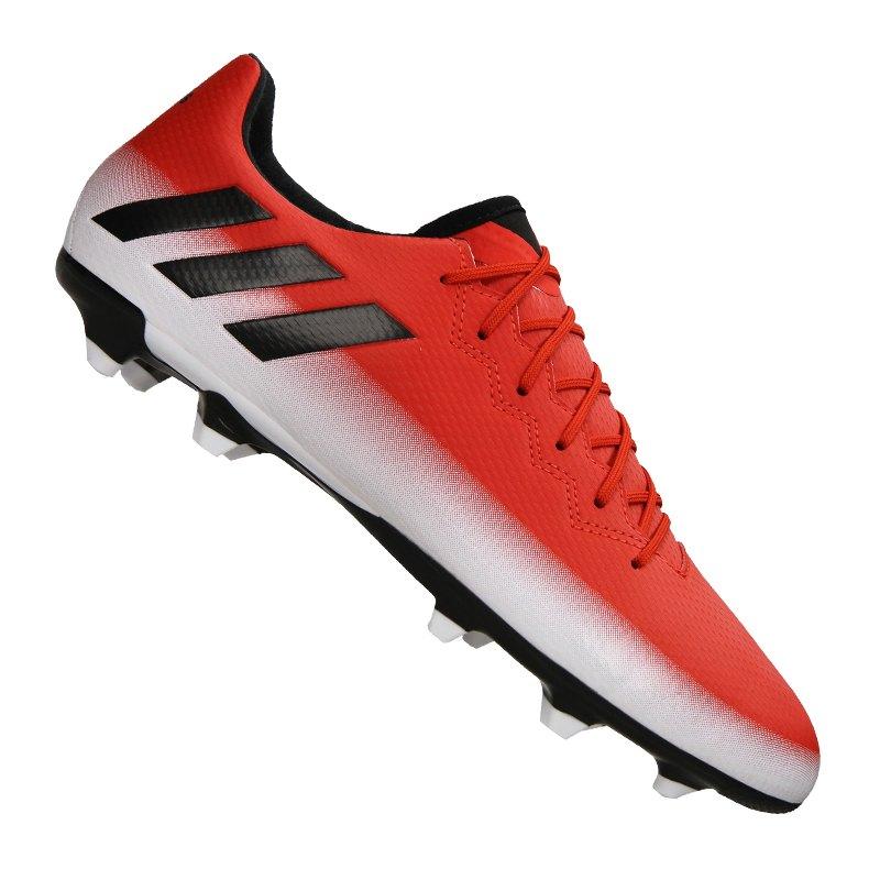 adidas FG Messi 16.3 Rot Schwarz Weiss - rot