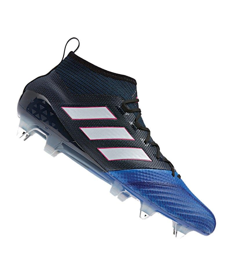 adidas SG ACE 17.1 Primeknit Schwarz Blau - schwarz