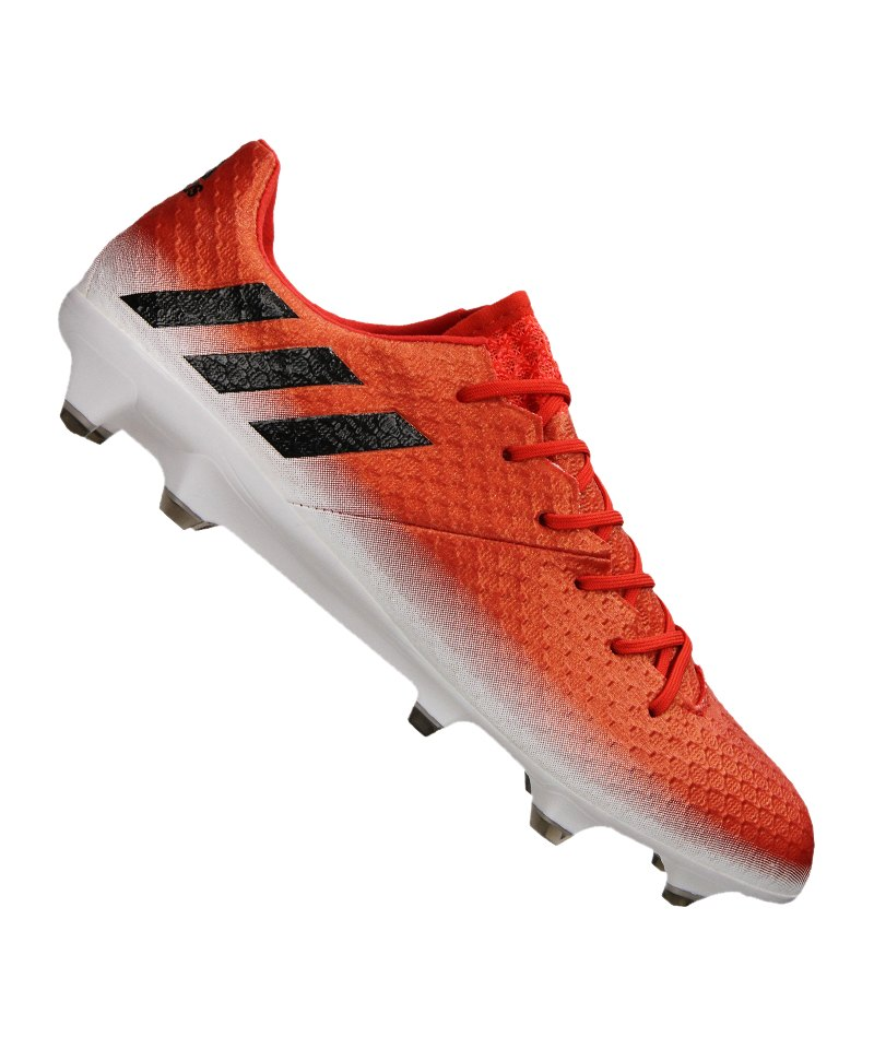 adidas FG Messi 16.1 Rot Schwarz Weiss - rot