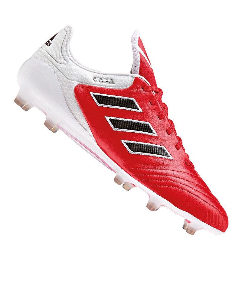 adidas FG COPA 17.1 Rot Weiss Schwarz - rot