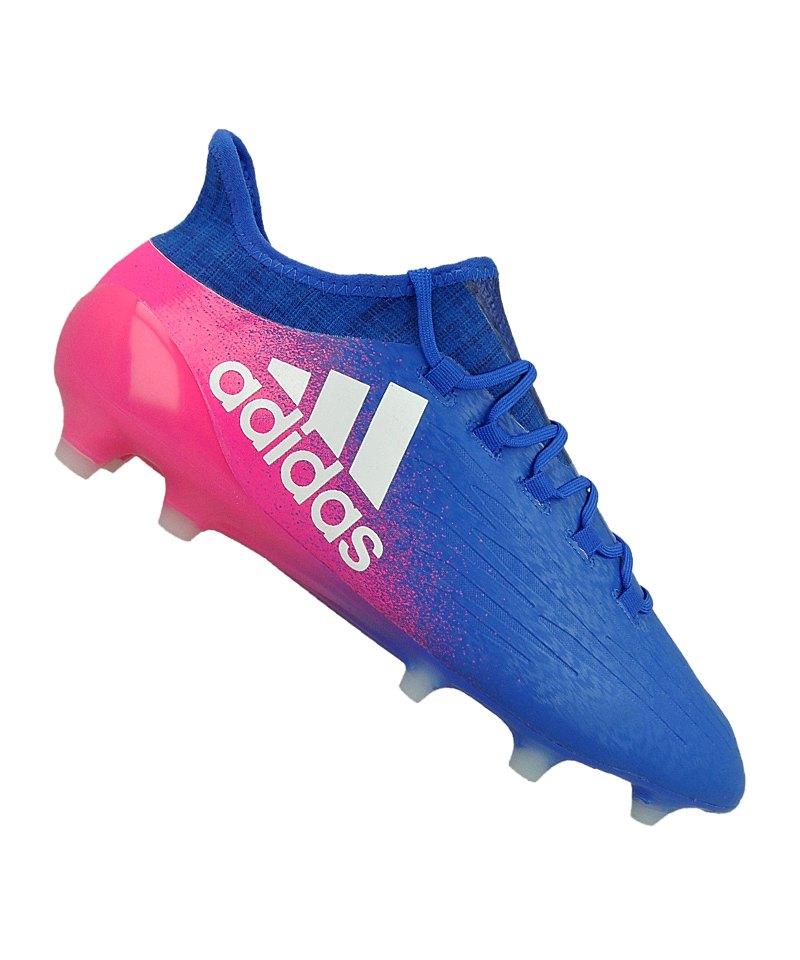 adidas FGX 16.1 Blau Weiss Pink - blau