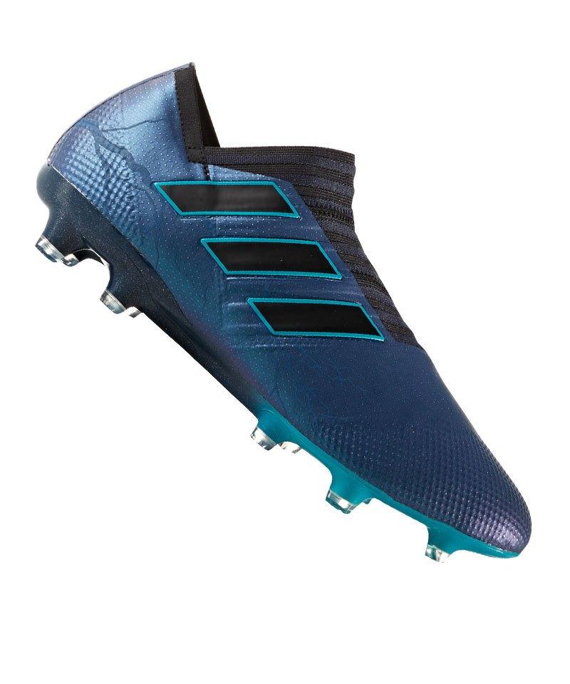 adidas FG NEMEZIZ 17+ 360Agility Schwarz Blau - schwarz
