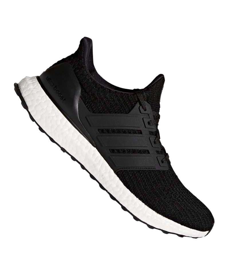 adidas Ultra Boost Running Schwarz Weiss - schwarz