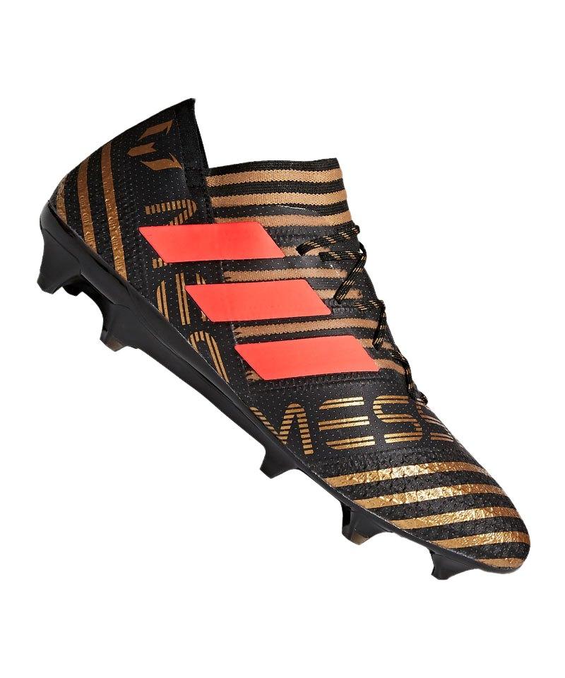 adidas NEMEZIZ Messi 17.1 FG Schwarz Rot - schwarz