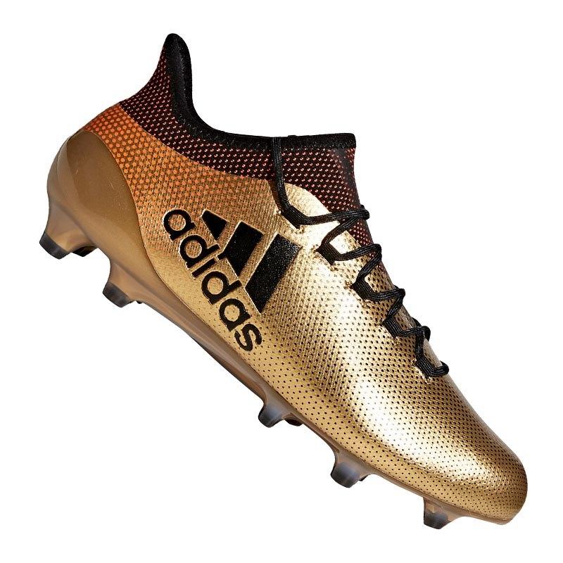 adidas X 17.1 FG Gold Schwarz - gold