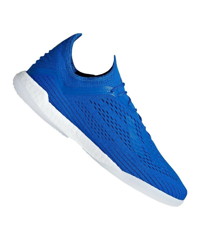 adidas X Tango 18.1 TR Blau Gelb - blau