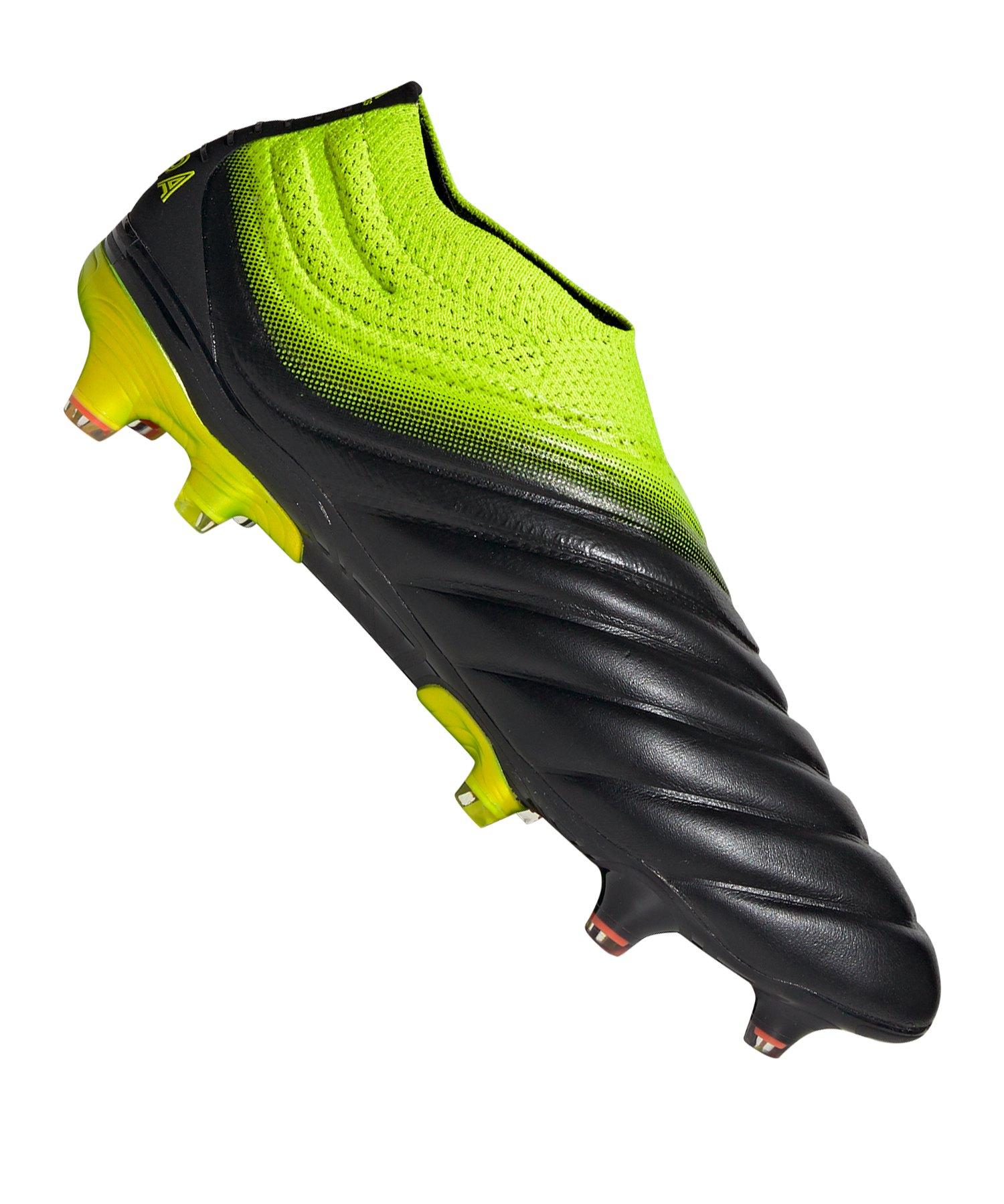 adidas COPA 19+ FG Schwarz Gelb - schwarz