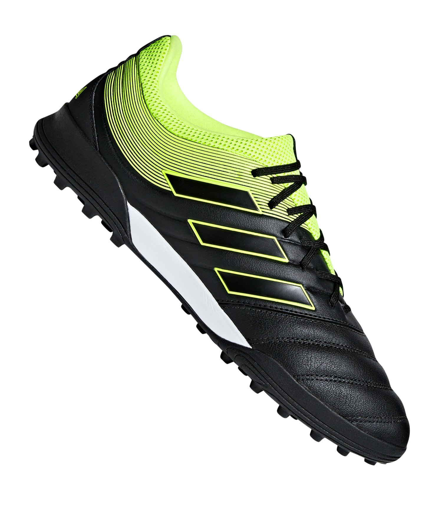 adidas COPA 19.3 TF Schwarz Gelb - schwarz