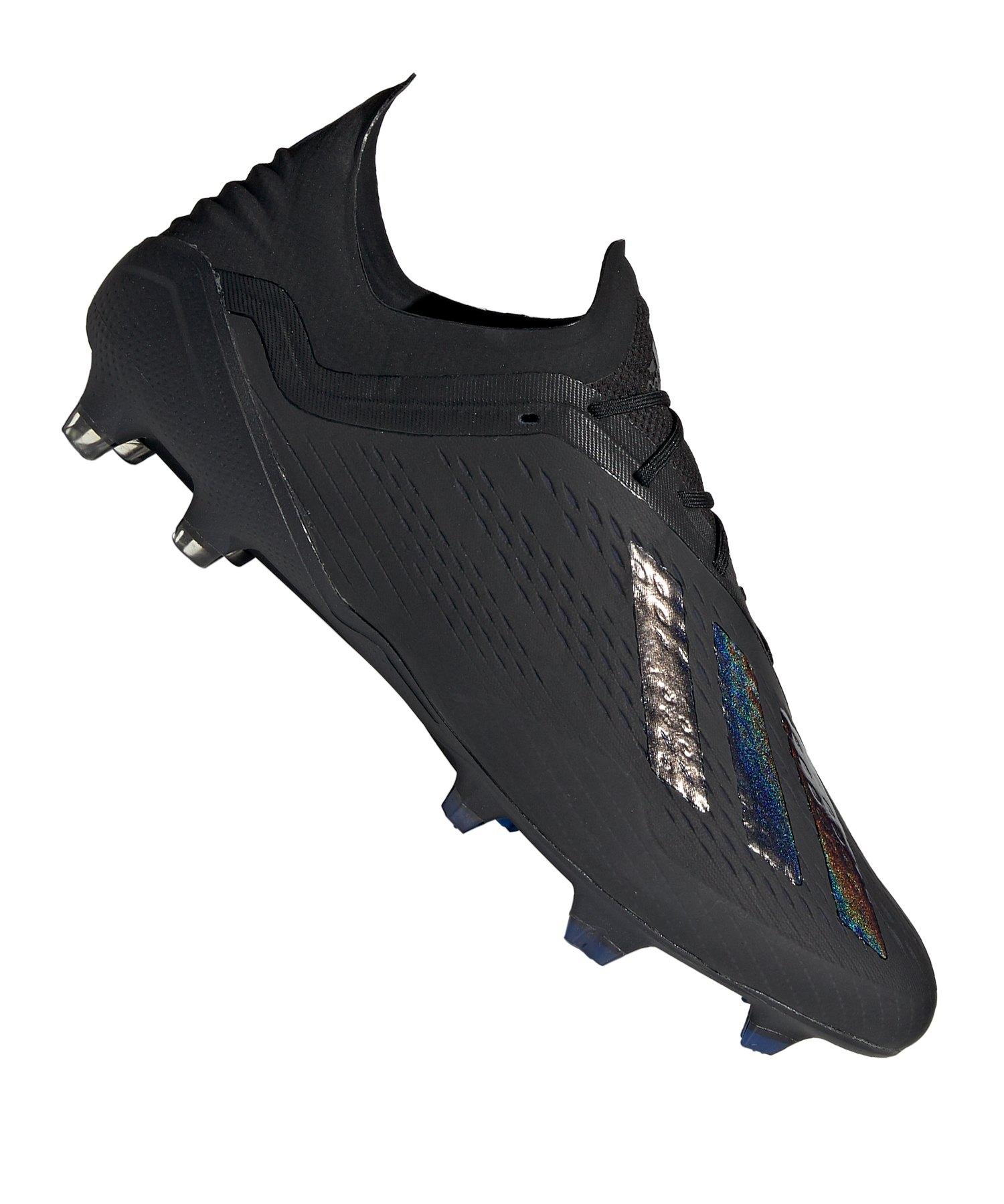 adidas X 18.1 FG Schwarz - schwarz