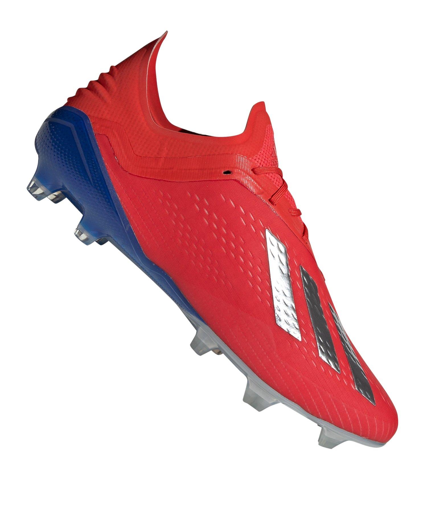 adidas X 18.1 FG Rot Blau - rot